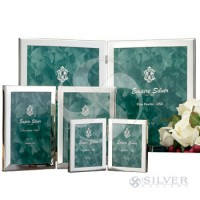 Empire Pewter Double Frame - 3.5 x 4.5