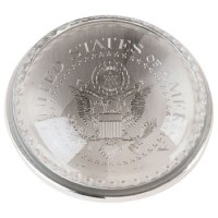 Great Seal Glass Dome Paperweight