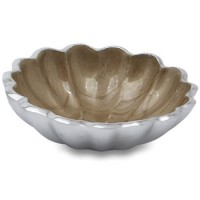"Julia Knight Peony 4"" Petite Bowl - Toffee"