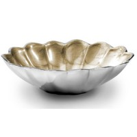 "Julia Knight Peony 5"" Oval Bowl - Toffee"