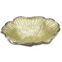 "Julia Knight Hibiscus 12"" Bowl - Kiwi"