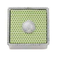 Mariposa Beaded Napkin Holder Golf Ball Weight