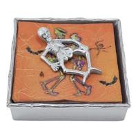 Mariposa Twig Napkin Box with Skeleton Weight