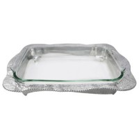Mariposa Sueno Oblong Casserole Caddy with 3-Quart Pyrex