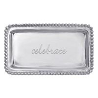 "Mariposa Statement Tray ""Celebrate"""