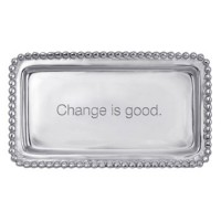 "Mariposa Statement Tray ""Change is Good"""