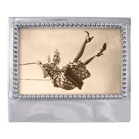 Mariposa Engravable Blank Statement Frame - 4 x 6