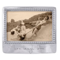 "Mariposa Statement Frame ""Live Laugh Love"""