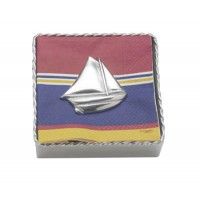 Mariposa Twisted Napkin Holder Sailboat Weight