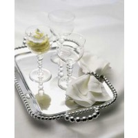 Mariposa String of Pearls Service Tray