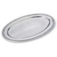 Match Pewter Oval Platter - Large