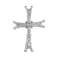 "Stoker's Cross Pendant Necklace w/18"" Chain"