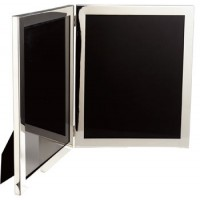 8 X 10 Pewter Double Frame