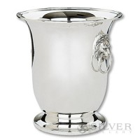 Reed and Barton Lion Head Wine Cooler
