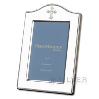 Reed & Barton Abbey Cross Picture Frame - 4 x 6