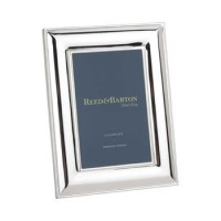 Reed & Barton Silverplate Newton Picture Frame - 4 x 6