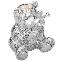 Reed and Barton Girl Bear Baby Bank