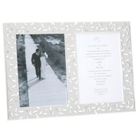Reed and Barton Seasons of Love Invitation Frame - 8 x 10
