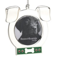 Reed and Barton Dog Picture Frame Ornament