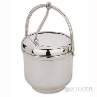 Reed and Barton Ice Bucket with Swing Handle