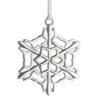 Lunt 2014 Sterling Snowflake Ornament - 26th Edition