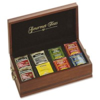 Reed and Barton Gourmet Tea Chest - Cherry