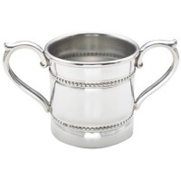 Reed and Barton Baby Beads Two-Handled Baby Cup