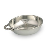 Salisbury Pewter Rope Handle Porringer Cup