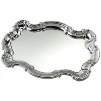 "Salisbury Sterling Silver Chippendale Tray - 9"" - Ships January 2019"