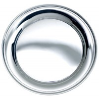 Salisbury Round Sterling Silver Tray - 7""
