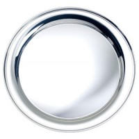 Salisbury Round Sterling Silver Tray - 9""