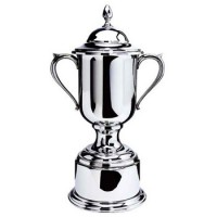 Salisbury Pewter Loving Cup Trophy w/Pewter Base - Small