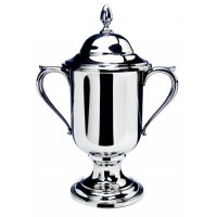 Salisbury Pewter Loving Cup Trophy w/Lid - Small