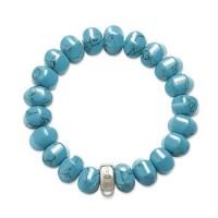 Turquoise Charm Bracelet - 17.5 CM
