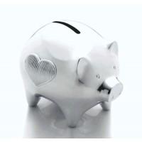 Vera Wang Infinity Baby Piggy Bank