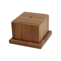Wood Trophy Base - Medium