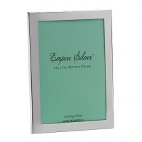 Empire Sterling Silver Plain Frame - 5 x 7