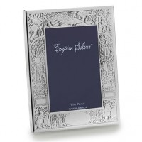 Empire Pewter Birth Record Frame - 4 x 6