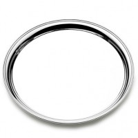 Empire Round Sterling Silver Presentation Tray - 10""