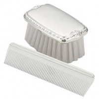 Empire Sterling Plain Boy's Comb & Brush