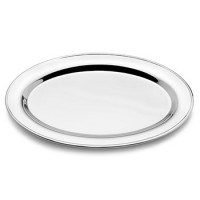 """Empire Pewter Oval Tray - 9"""""""