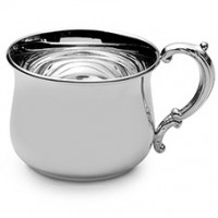 Empire Grand Sterling Silver Bulged Baby Cup