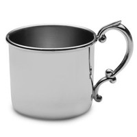 Empire Pewter Plain Baby Cup