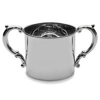 Empire Pewter Plain Double Handle Baby Cup