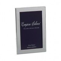 Empire Pewter Channel Back Frame - 4 x 6