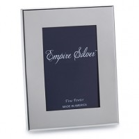 "Empire Pewter Wide Border Frame - 4.75"" x 6"""