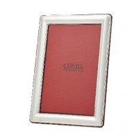 Cunill Sterling Silver Finesse Frame - 5 x 7 - A Silver Gallery exclusive! - Personalize it today at SilverGallery.com