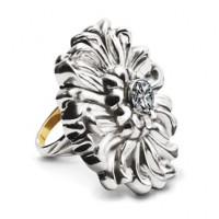 Galmer Sparkling Chrysanthemum Ring