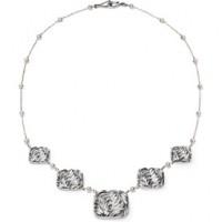 Galmer Palm Cascade Necklace
