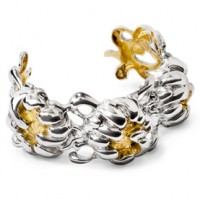 Galmer Peony Three Bloom Cuff